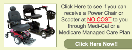 See if you can get a Power Chair at no cost to you